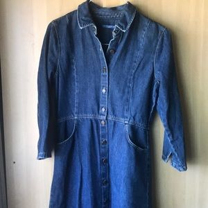 Pull and Bear denim dress